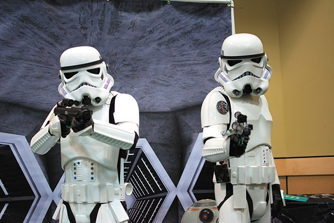 Scenes from the ninth annual KuroNekoCon this past weekend. - STUART DANFORD