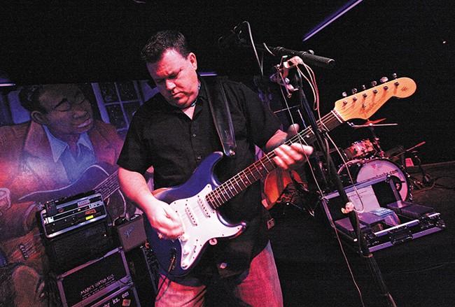 Local blues legend Sammy Eubanks - YOUNG KWAK