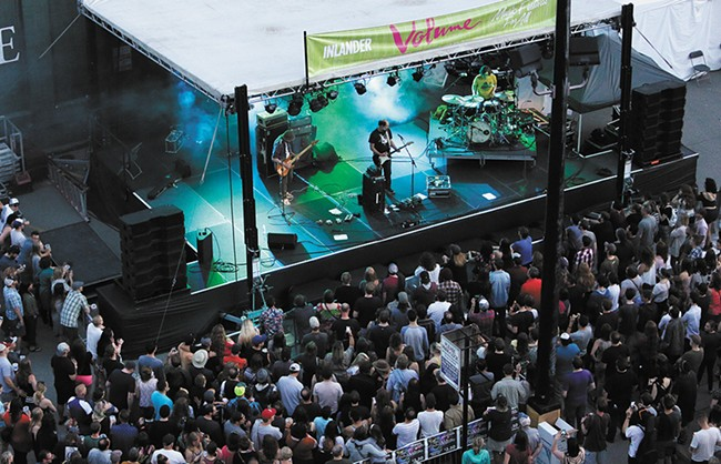 The Volume Music Festival is the highlight of early summer in Spokane. - YOUNG KWAK
