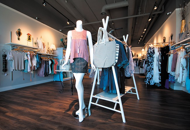 Seperates showcased at Boutique Bleu in Kendall Yards. - STUART DANFORD