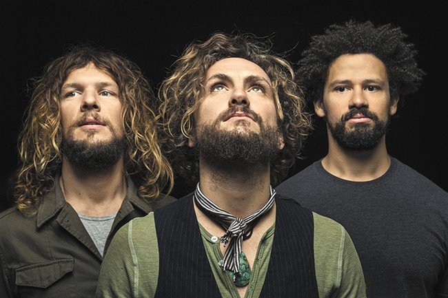 The John Butler Trio plays Friday night.