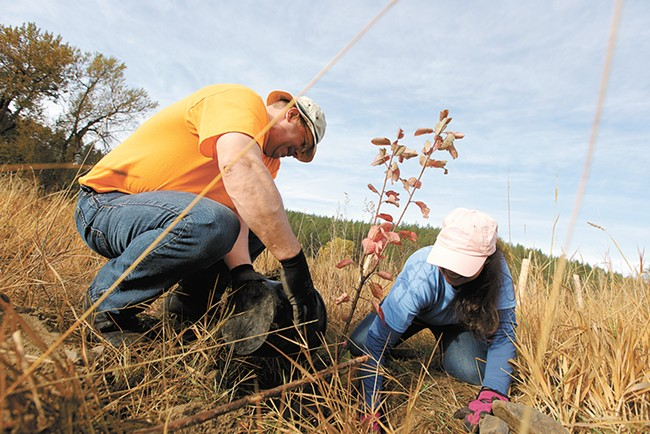 Help Reforest Spokane on Saturday.