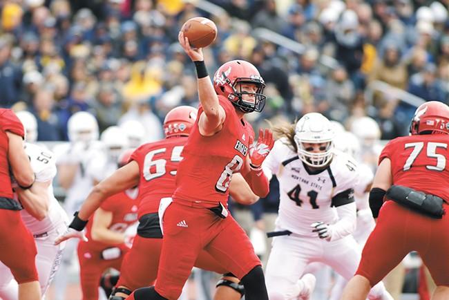 EWU quarterback Gage Gubrud - YOUNG KWAK
