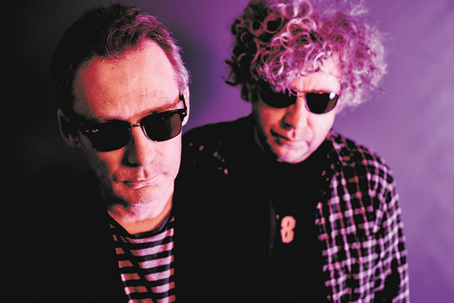 Jim (left) and William Reid are the noise architects behind the Jesus and Mary Chain, who play the Bing on Oct. 26. - STEVE GULLICK