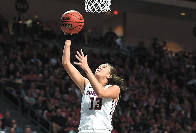 Junior forward Jill Barta will be key to Gonzaga's continued success. - KYLE TERADA