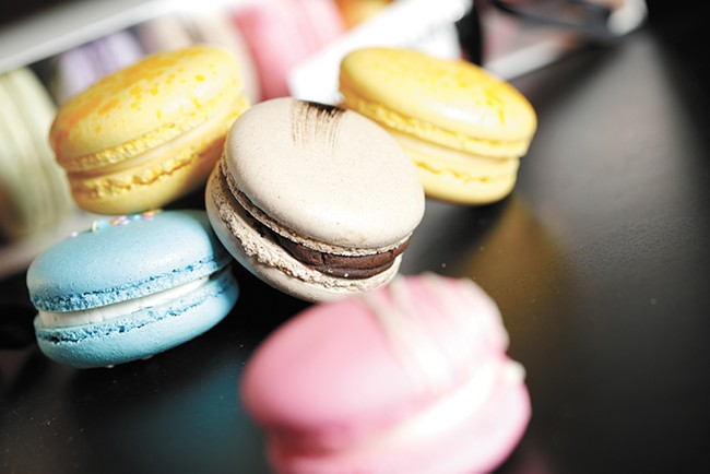 miFlavour's macarons are available at several grocers in Spokane. - YOUNG KWAK