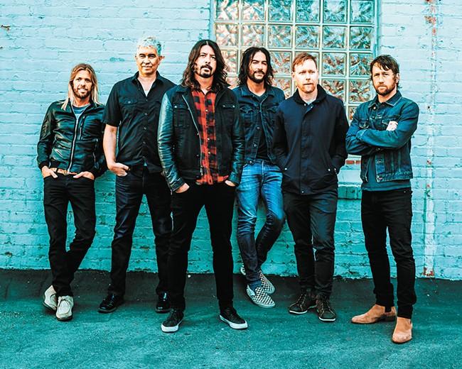 Catch Foo Fighters in Spokane on Dec. 4.