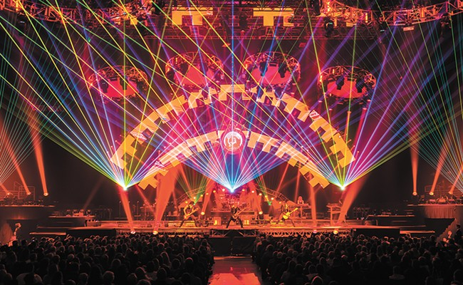 'Tis the season: Trans-Siberian Orchestra's Christmas spectacular rolls through town again, this time without its founding member. - JASON MCEACHERN