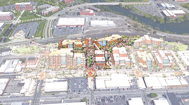 CITY OF SPOKANE AND AVISTA RENDERINGS