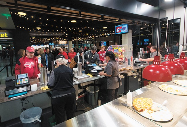 Four new food counters offer restaurant-style fare. - STUART DANFORD