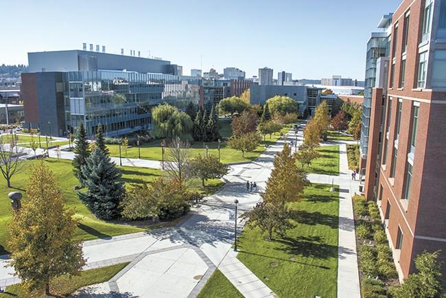 The new WSU-Spokane medical school.