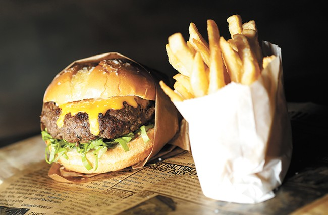Chef Adam Hegsted's new burger spot is set to open later this month. - YOUNG KWAK