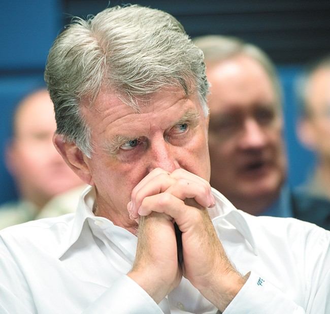 In his last year as Idaho governor, Butch Otter hopes to finally close the gaping hole in the Idaho health care system.  - LANCE CHEUNG