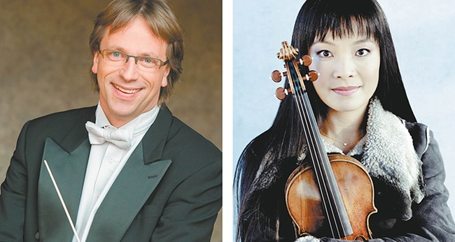 Eckart Preu and Mira Wang join up to deliver a challenging U.S. premiere with the Spokane Symphony this weekend.