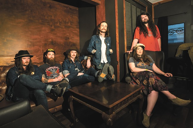 A little bit country, a little bit rock 'n' roll: Banditos bring their classic sound and already legendary live show to the Bartlett on Friday. - NICOLE MAGO