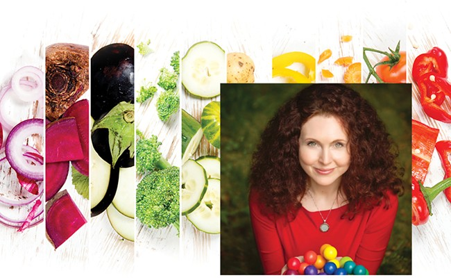 The Rainbow Diet author Deanna Minich | Deanna Minich photo