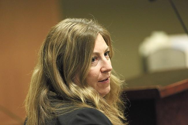 Spokane County public defender Krista Elliott - YOUNG KWAK