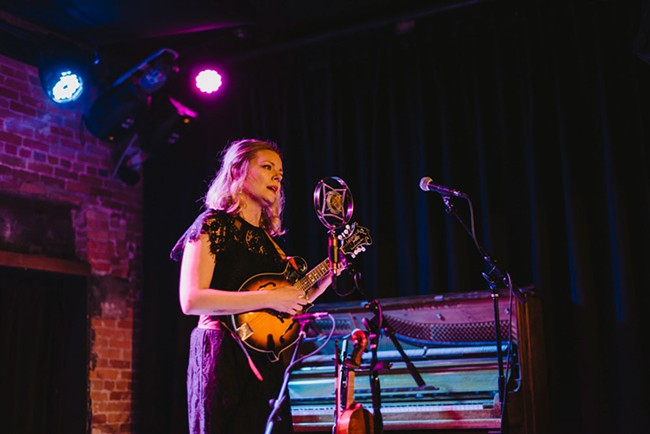 Jenny Anne Mannan performing at a recent Northwest of Nashville show at The Bartlett. - BRANDON VASQUEZ