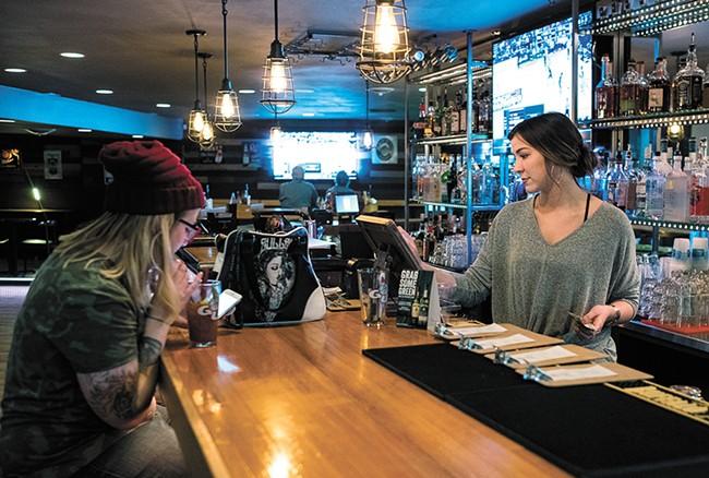 Logan Tavern carries on a neighborhood legacy. - HECTOR AIZON
