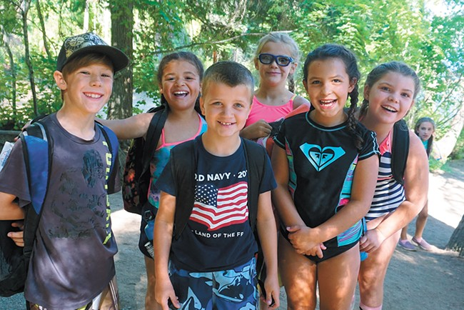 Camp Fire's Camp Sweyolakan on Lake Coeur d'Alene hosts traditional sleepaway camp for all ages.