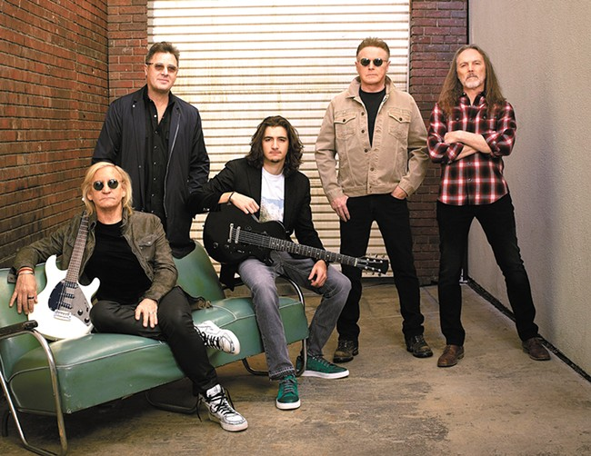 Why don't you come to your senses? No one's too cool for the Eagles.
