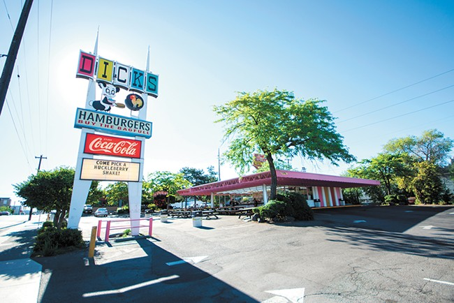 Dick's won Best Cheap Eats in our inaugural readers poll. - STUART DANFORD PHOTO