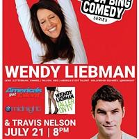 Bada Bing Comedy Series: Wendy Liebman & Travis Nelson