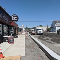 Some businesses manage to stay busy during construction on North Monroe