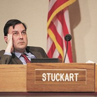 Can City Council President Ben Stuckart really shut down a meeting whenever he wants?