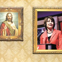 How has McMorris Rodgers' Christian faith influenced her response to Trump?
