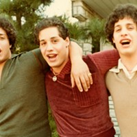 <i>Three Identical Strangers</i> tells of triplets separated at birth, and the implications of their reunion