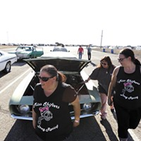 A love of burning rubber and flashy rides brings together the Miss Shifters, Spokane's all-female car club