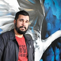 Artist Daniel Lopez has painted dozens of public murals around Spokane in recent years