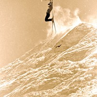 The Hall of Fame skier who became a legend