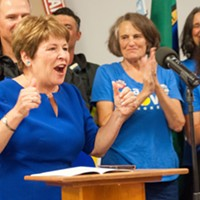 "Lisa Brown and Co. ""overwhelm"" opponents in fundraising, grizzly attacks and other headlines"