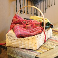 Artful Fibers: A North Idaho weaver displays her craftwork in Coeur d'Alene