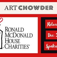 ArtChowder pARTy for Ronald McDonald House Charities