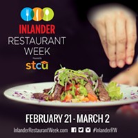 2019 Inlander Restaurant Week menus are live!