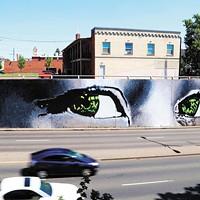 Best Mural: 'Eyes on Maple'