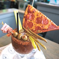 Best Bloody Mary: Boombox Pizza