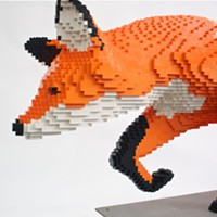 LEGO lovers, get building and plan to enter the MAC's sculpture contest