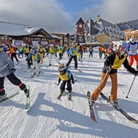 On December 11, hit the slopes for $10 and a great cause