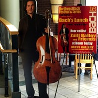 Free Bach! Lunch concert at River Park Square inspires all ages