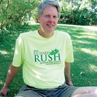Why former City Councilman Richard Rush was fired as council assistant