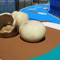 People keep stealing the giant toy eggs from Spokane Valley's Discovery Playground