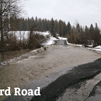 Flooding has drained Spokane County's budget for road repairs