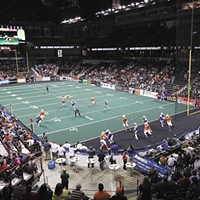 Indoor Football League's Spokane Empire won't return next season