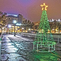 The Spokane Grand Tree Lighting ceremony returns to Riverfront Park Saturday