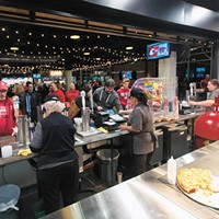 Spokane Arena unveils new restaurant-style dining options, remodeled concessions area