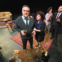 Edward Albee's classic <i>Who's Afraid of Virginia Woolf?</i> goes in the round